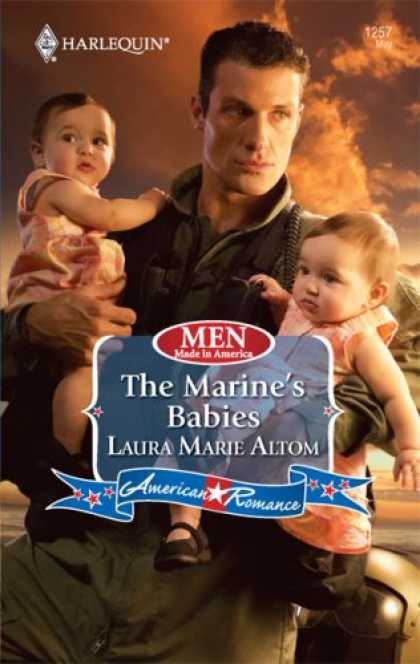 Books About Parenting - The Marine's Babies (Harlequin American Romance Series)