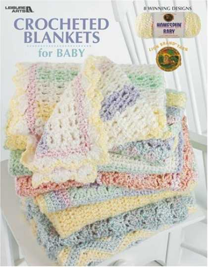 Books About Parenting - Crochet Blankets for Baby (Leisure Arts #3527)