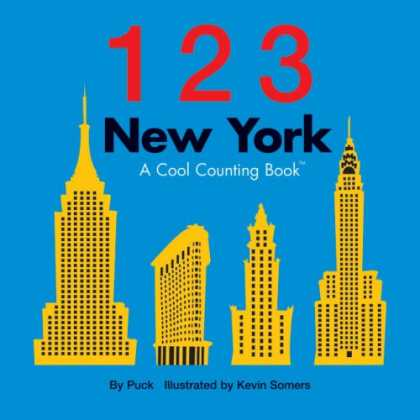 Books About Parenting - 123 New York: A Cool Counting Book (Cool Counting Books)