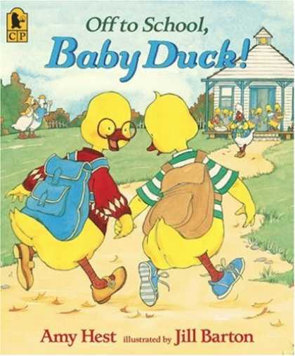 Books About Parenting - Off to School, Baby Duck!