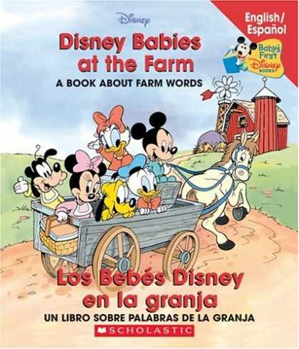 Books About Parenting - Disney Babies At The Farm / Los Bebes Disney en la granja (Baby's First Disney B