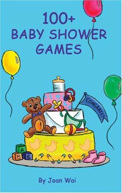 Books About Parenting - 100+ Baby Shower Games (100+ series)