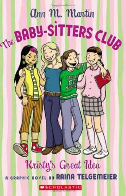 Books About Parenting - The Baby-Sitters Club: Kristy's Great Idea