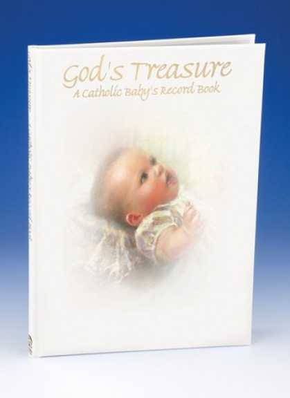 Books About Parenting - God's Treasure: A Catholic Baby's Record Book