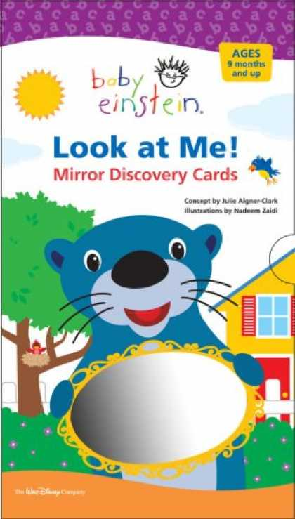 Books About Parenting - Baby Einstein: Look at Me! Mirror Discovery Cards