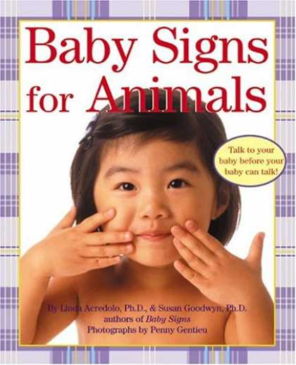 Books About Parenting - Baby Signs for Animals