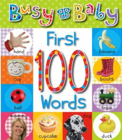 Books About Parenting - Busy Baby First 100 Words