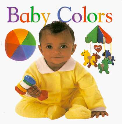 Books About Parenting - Baby Colors (Soft-to-Touch Books)