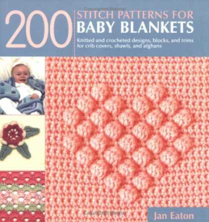 Books About Parenting - 200 Stitch Patterns for Baby Blankets