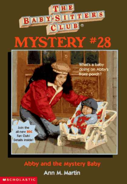 Books About Parenting - Abby and the Mystery Baby (Baby-Sitters Club Mystery)