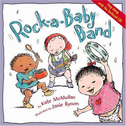 Books About Parenting - Rock-a-Baby Band
