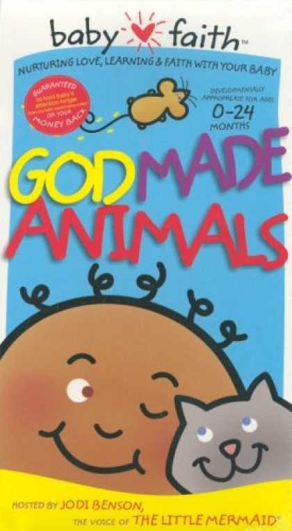 Books About Parenting - God Made Animals (Baby Faith)