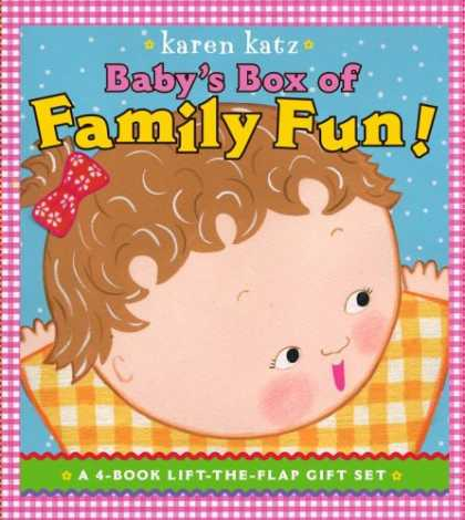 Books About Parenting - Baby's Box of Family Fun: A 4-Book Lift-the-Flap Gift Set: Where Is Baby's Mommy