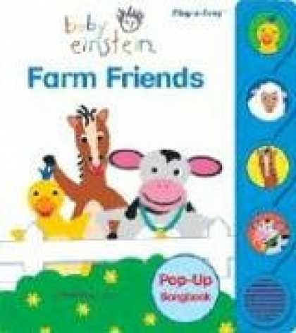Books About Parenting - Baby Einstein: Farm Friends (Little Pop Up Sound Book)
