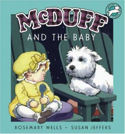 Books About Parenting - McDuff and the Baby (new design)