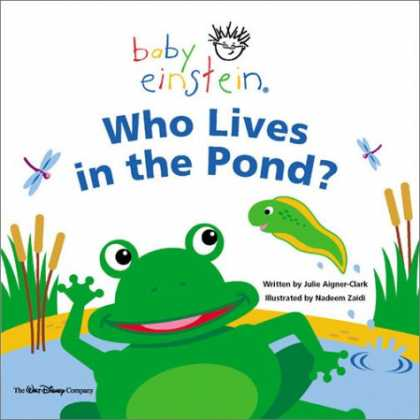 Books About Parenting - Baby Einstein: Who Lives in the Pond?