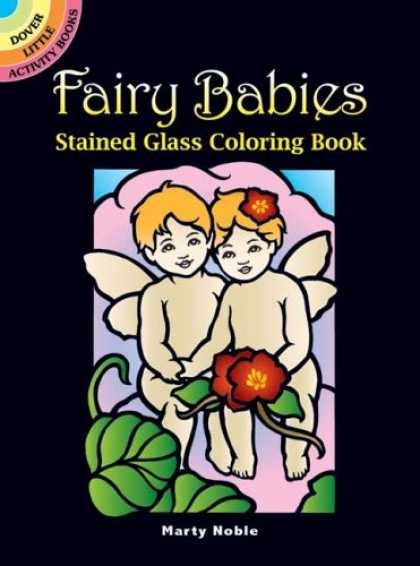 Books About Parenting - Fairy Babies Stained Glass Coloring Book (Dover Little Activity Books)