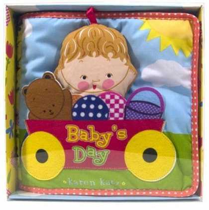 Books About Parenting - Baby's Day: Cloth Book