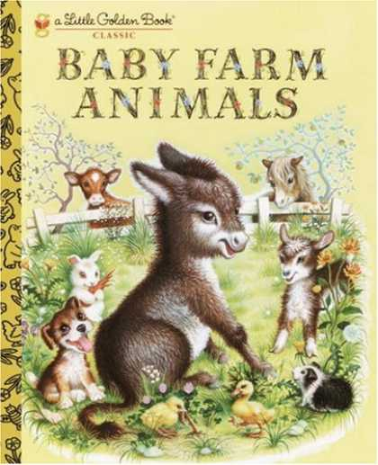 Books About Parenting - Baby Farm Animals (A Little Golden Book Classic)