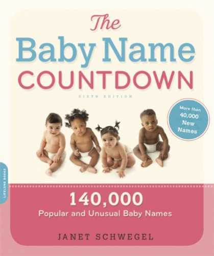 Books About Parenting - The Baby Name Countdown: 140,000 Popular and Unusual Baby Names