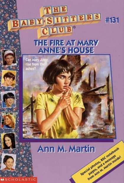 Books About Parenting - The Fire at Mary Anne's House (Baby-Sitters Club)