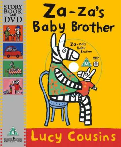 Books About Parenting - Za-Za's Baby Brother (Story Book & DVD)