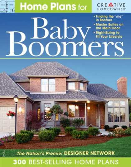 Books About Parenting - Home Plans for Baby Boomers: Master Suites on the Main Floor