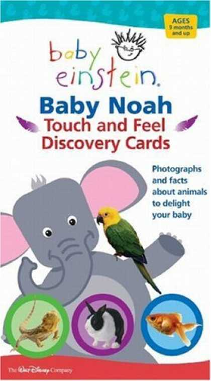 Books About Parenting - Baby Einstein: Baby Noah Touch and Feel Discovery Cards