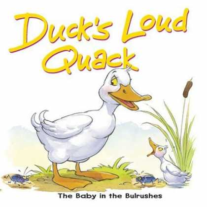 Books About Parenting - Duck's Loud Quack: The Baby in the Bulrushes (Bible Animal Board Books)