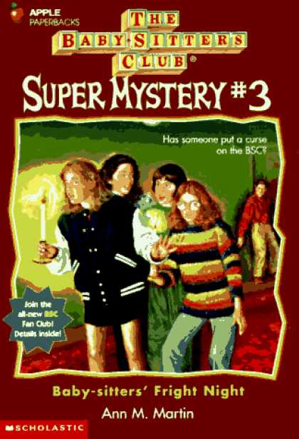 Books About Parenting - Baby-Sitters' Fright Night (Baby-Sitters Club Super Mystery)