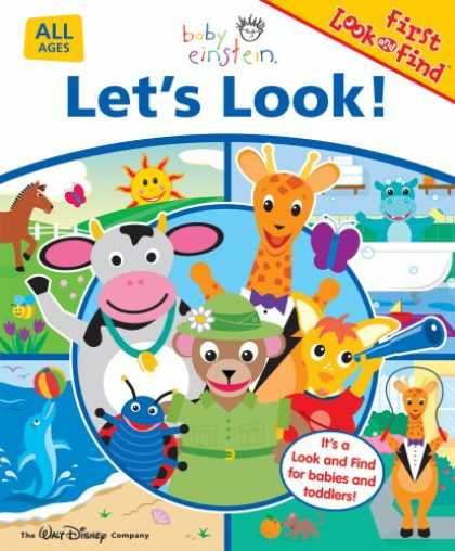 Books About Parenting - Baby Einstein Let's Look!: First Look and Find