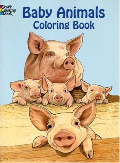 Books About Parenting - Baby Animals Coloring Book (Dover Pictorial Archives)