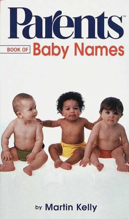 Books About Parenting - Parents Book of Baby Names (Parents Baby and Childcare Series)
