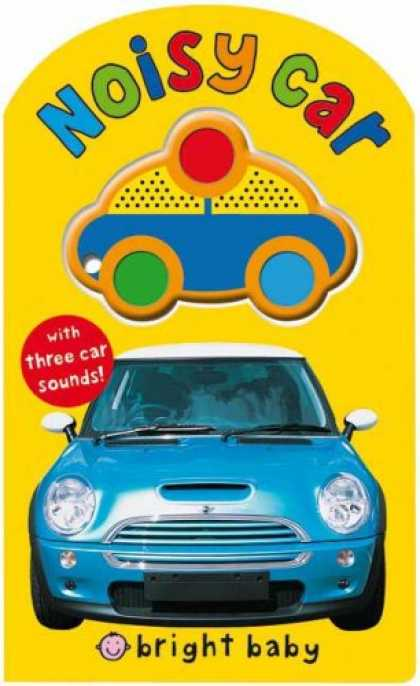 Books About Parenting - Bright Baby Noisy Car (Bright Baby Sound Books)