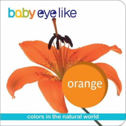 Books About Parenting - Baby Eye Like: Orange