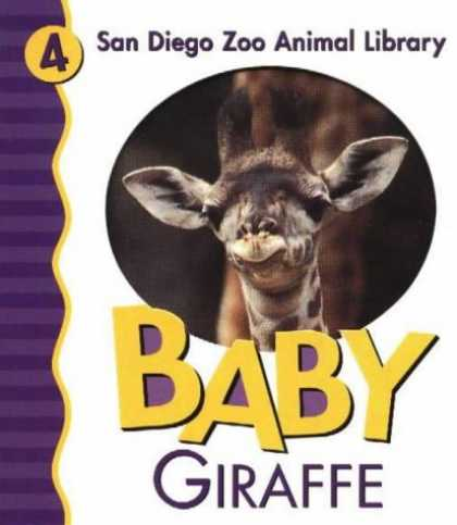 Books About Parenting - Baby Giraffe (San Diego Zoo Animal Library)