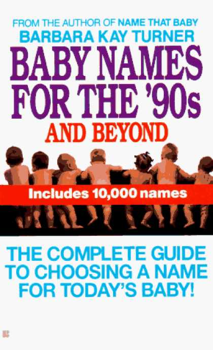 Books About Parenting - Baby Names for the Nineties