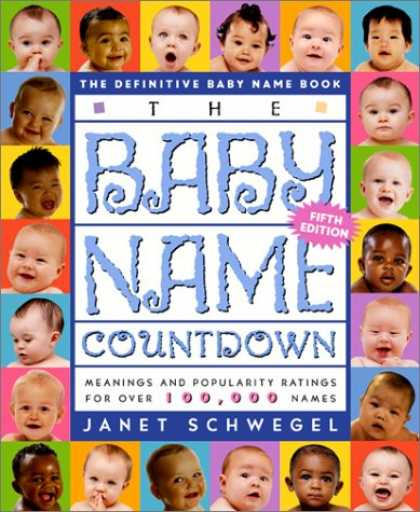 Books About Parenting - The Baby Name Countdown 5 Ed: The Definitive Baby Name Book