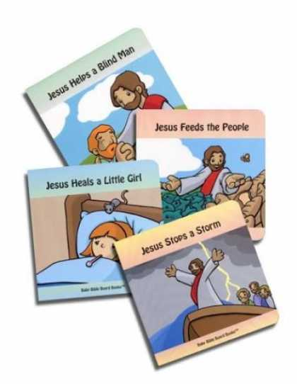 Books About Parenting - Stories of Jesus (Baby Bible Board Books Collection #1)