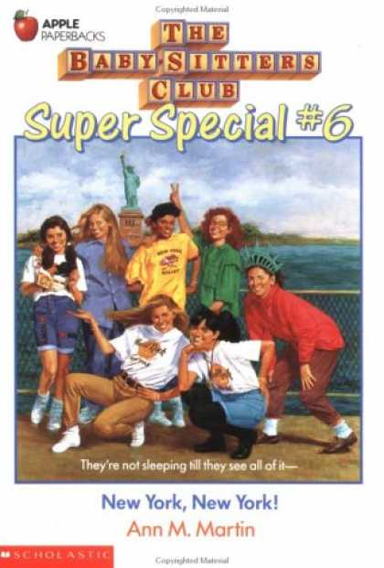Books About Parenting - New York, New York! (Baby-Sitters Club Super Special)