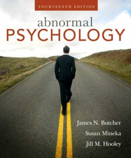 Books About Psychology - Abnormal Psychology (14th Edition) (MyPsychLab Series)