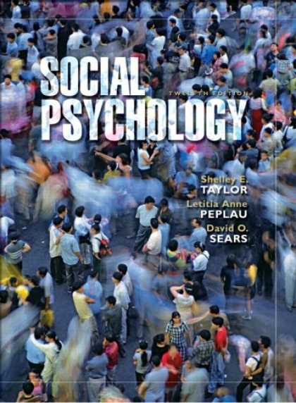 Books About Psychology - Social Psychology (12th Edition)