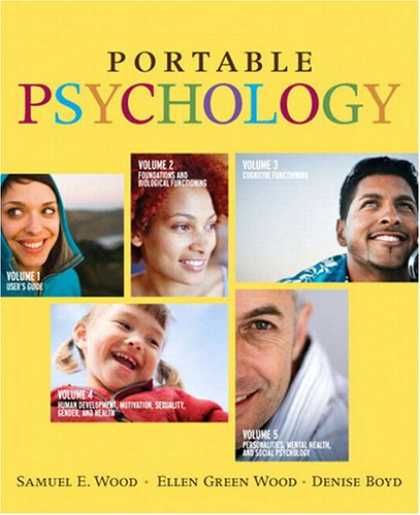 Books About Psychology - Portable Psychology (with MyPsychLab with E-Book Student Access Code Card)