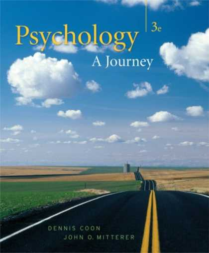 Books About Psychology - Psychology: A Journey (with Practice Exam and Visual Guide)