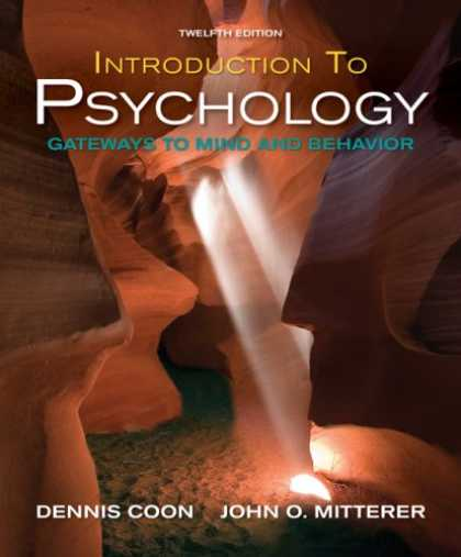 Books About Psychology - Introduction to Psychology: Gateways to Mind and Behavior with Concept Maps and