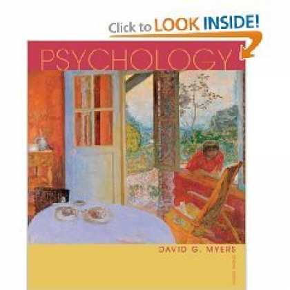 Books About Psychology - Psychology, 7th Edition (Hardcover), David Myers
