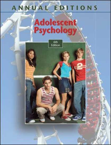 Books About Psychology - Adolescent Psychology, 6th Edition (Annual Editions)