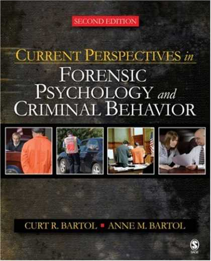 Books About Psychology - Current Perspectives in Forensic Psychology and Criminal Behavior