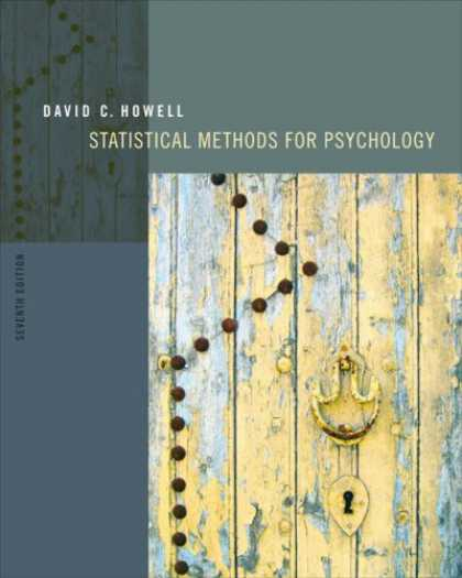 Books About Psychology - Statistical Methods for Psychology