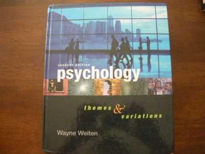 Books About Psychology - Psychology Themes and Variations 7th Edition 2007